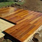 terrasse bois maison secondaire