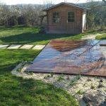 terrasse bois aménagement jardin