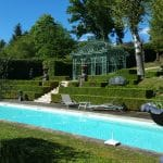 creation terrasse bois piscine perigord